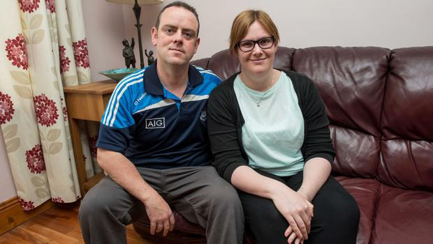 Claire Nolan and Andy Flannery