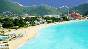 St Maarten is blessed with beaches