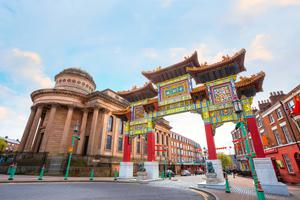 Chinatown in the heart of Liverpool