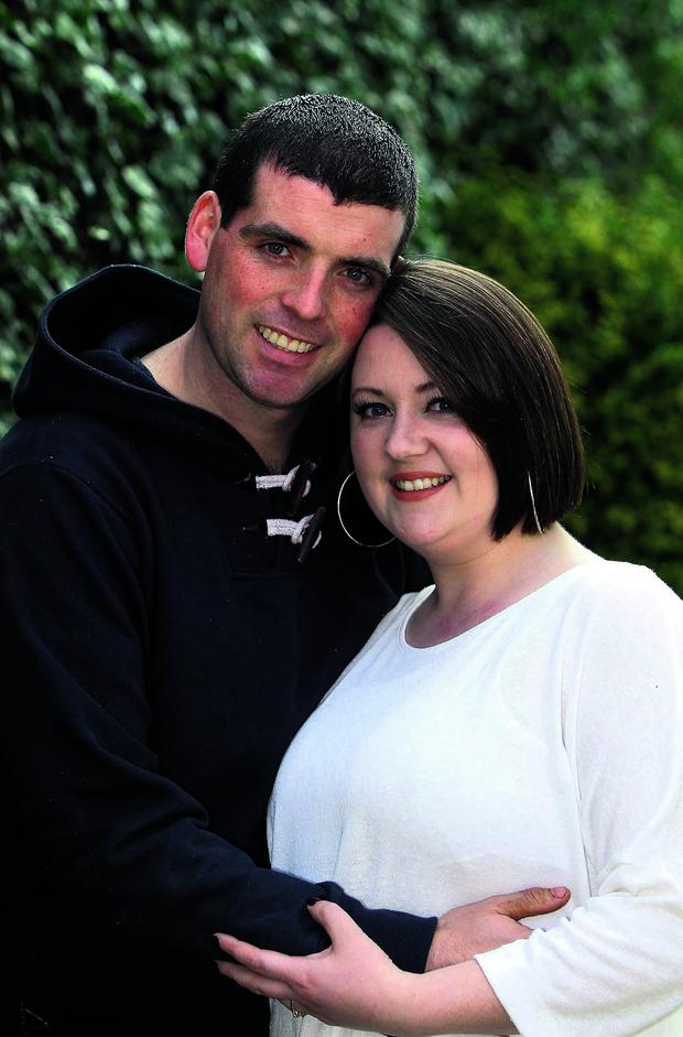Lisa and Gary McMahon. Photo: Colin O'Riordan