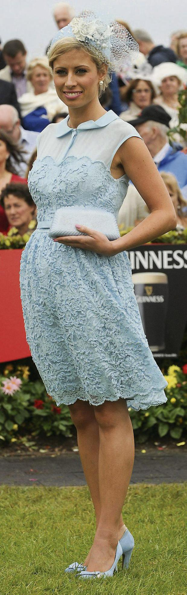 Rachelle Guiry was crowned best dressed. Photo: Sportsfile