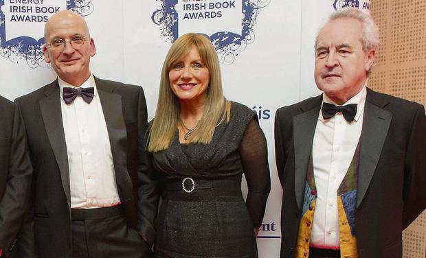 Roddy Doyle, Frances Black, John Banville. Photo: Doug O'Connor