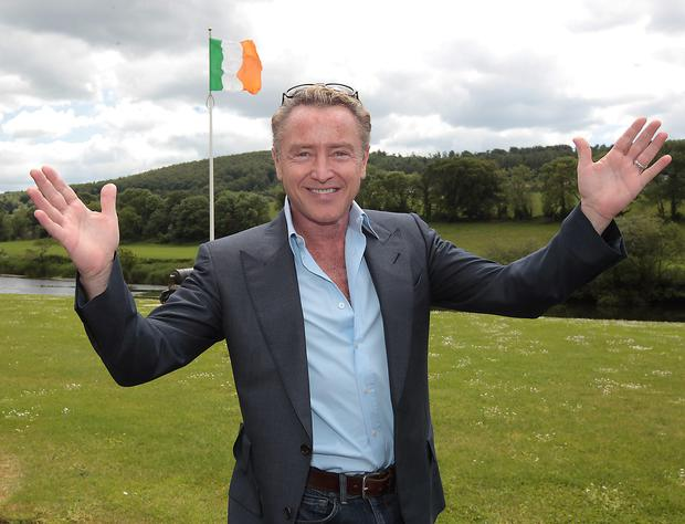 Michael Flatley. Photo: Brian McEvoy