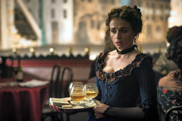 Charlene McKenna in 'Ripper Street'. Photo: BBC