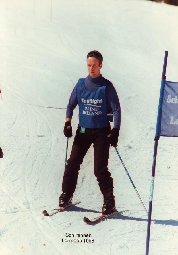 Robbie Dowdall also enjoys skiing and cycling