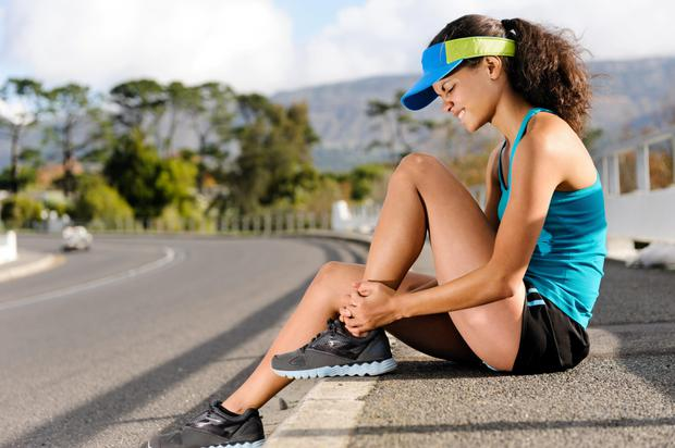 Runners pick up many injuries if they don't look after themselves