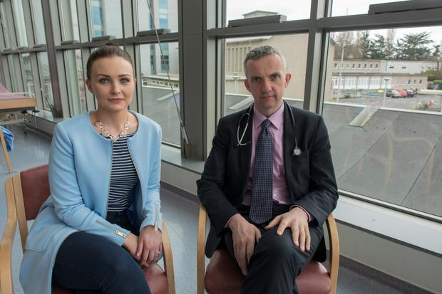 Prof Donal O'Shea at St Vincent's Hospital. Joanna Kiernan interview.
