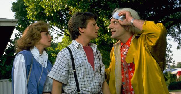 Sometimes I'd do anything to travel back in time like Michael J Fox in Back to the Future