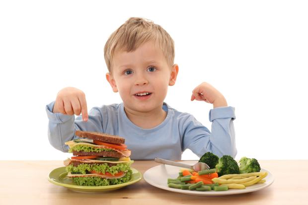 Start your kids off with good nutrition early on