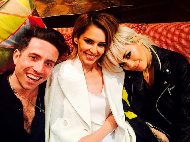 X Factor judges Nick Grimshaw, Cheryl Fernandez-Versini and Rita Ora. Photo: SYCO/THAMES TV