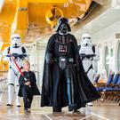 "In 2016, Disney Cruise Line guests can experience the legendary adventures and iconic characters from the Star Wars saga for the first time aboard a Disney Cruise Line ship in a brand-new, day-long celebration during eight special sailings: ""Star Wars Day at Sea."" Photo: Matt Stroshane"