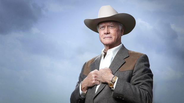 Dallas on TV3 In Picture: Larry Hagman as J.R. Ewing.