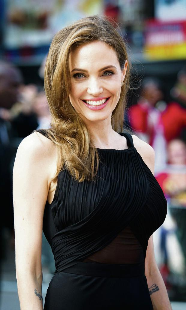 Distress: Angelina Jolie loses weight during times of stress. Photo: Getty