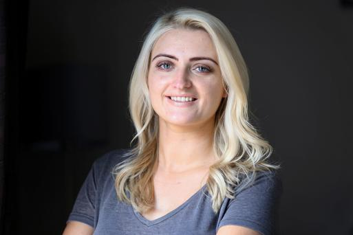 Grace Rattigan (28) battles with anxiety.