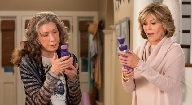 Grace and Frankie stars Lily Tomlin and Jane Fonda