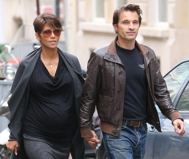 Halle Berry and her husband Oliver Martinez had children later in life