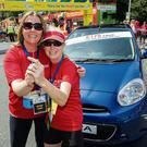 Jeanne McGann, Head of Marketing Nissan (left) and Linda O'Shea. Photo: Doug O'Connor