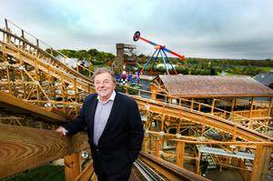 Tayto Park owner Ray Coyle apologised to people who had bought tickets for the reopening