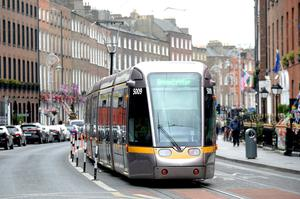 Luas drivers have been offered fresh sandwiches