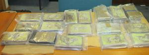 The drugs worth €1.5m which were seized at Rosslare Port