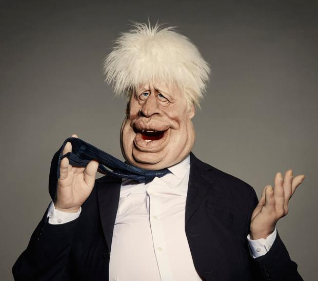The Boris Johnson used in the show