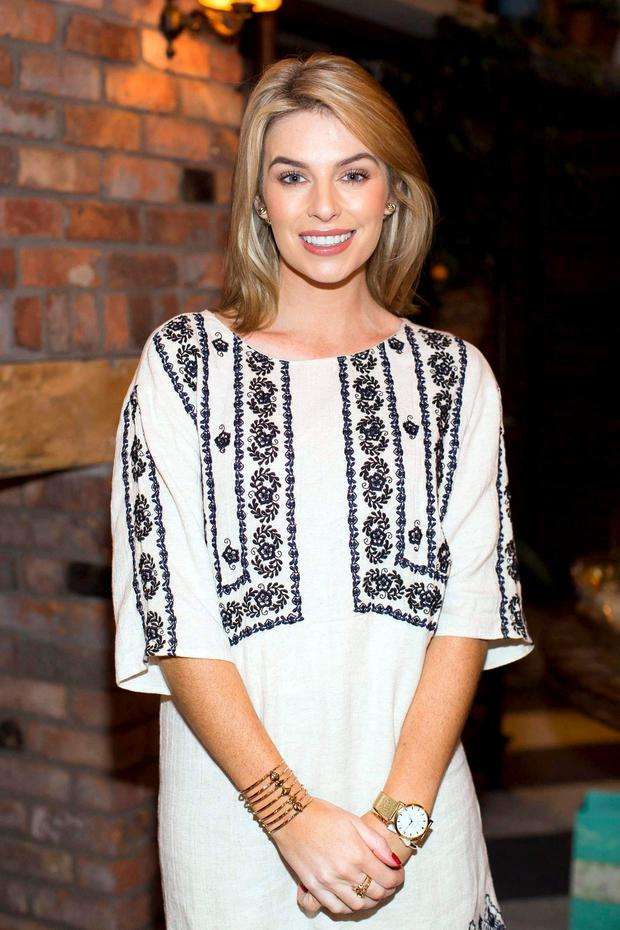 Pippa O'Connor pictured at the Connacht Gold Afternoon Tea party, which took place in the Glasshouse and Garden Area of House on Leeson Street, Dublin 2 to celebrate the launch of Connacht Gold's Low Fat Butter #LoveTheTaste campaign.