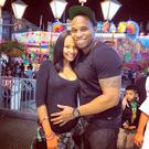 Samantha is pregnant with her first child with husband Torray Scales