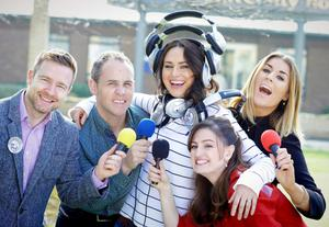 Aidan Power and Trevor Keegan,Top Irish model, Corina Grant, who also works with teenagers, through schools, to help build self-esteem and improve body image, Broadcaster Rebecca Horan and Actress and musician Laura Canavan Hayes