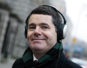 Minister for Transport Paschal Donohoe