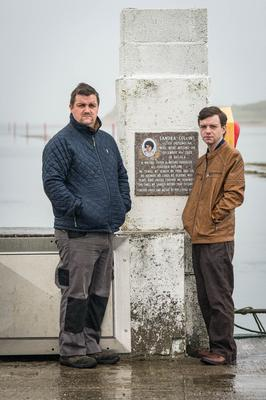 David and Patrick Collins, whose sister Sandra disappeared in 2000