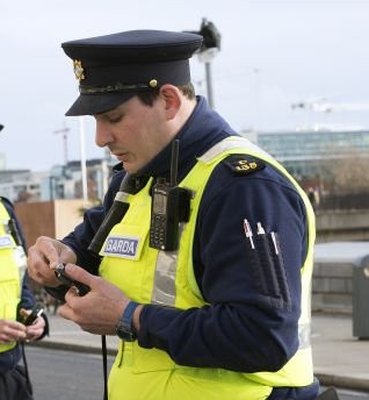 Drink-driving checkpoint