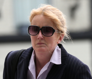 Eve Doherty's harassment of state solicitor Elizabeth Howlin included putting up leaflets in her neighbourhood