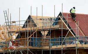 The higher estimate for housing is based on the population hitting around six million. Photo: Gareth Fuller/PA Wire