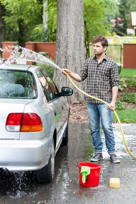 Washing car with a hosepipe will have to wait because of ban