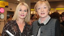 Claire Byrne with late broadcaster Marian Finucane