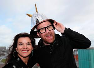 Deirdre O'Kane and Jason Byrne will be Grand Marshals. Photo: Brian Lawless/PA Wire