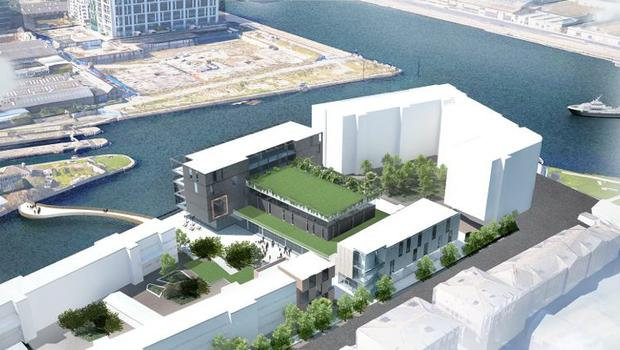 An artist's impression of the revamped Ringsend and Irishtown Community Centre