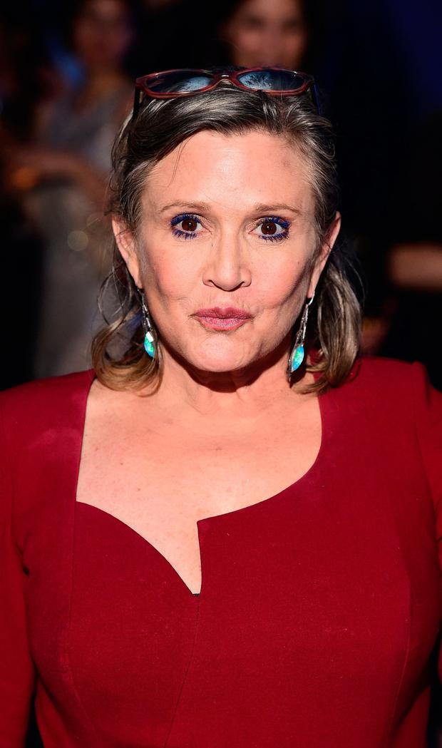 Late actress Carrie Fisher