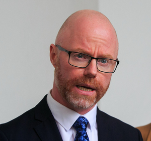 Minister Stephen Donnelly