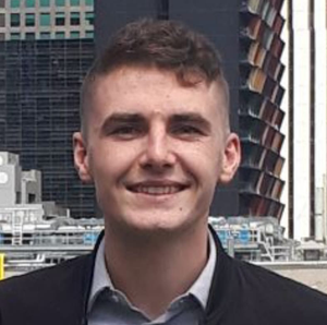 Fionn Barron struggled to find a flight home from Melbourne
