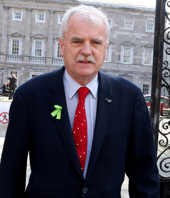 Super junior health minister Finian McGrath has called for the smoking ban to be eased Photo: Tom Burke