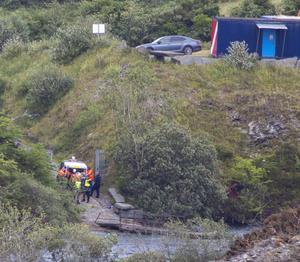 Two bodies were recovered from the quarry in Portroe