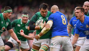 This weekend's Six Nations match between Ireland and Italy at the Aviva Stadium has been postponed