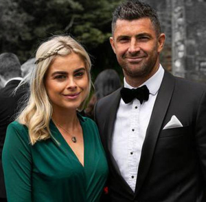 Jess Redden and rugby ace Rob Kearney who have emigrated