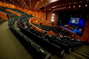The Convention Centre, where a new Taoiseach was picked