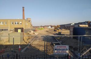 Scanron wanted to build 240 apartments beside the former Smurfit printworks