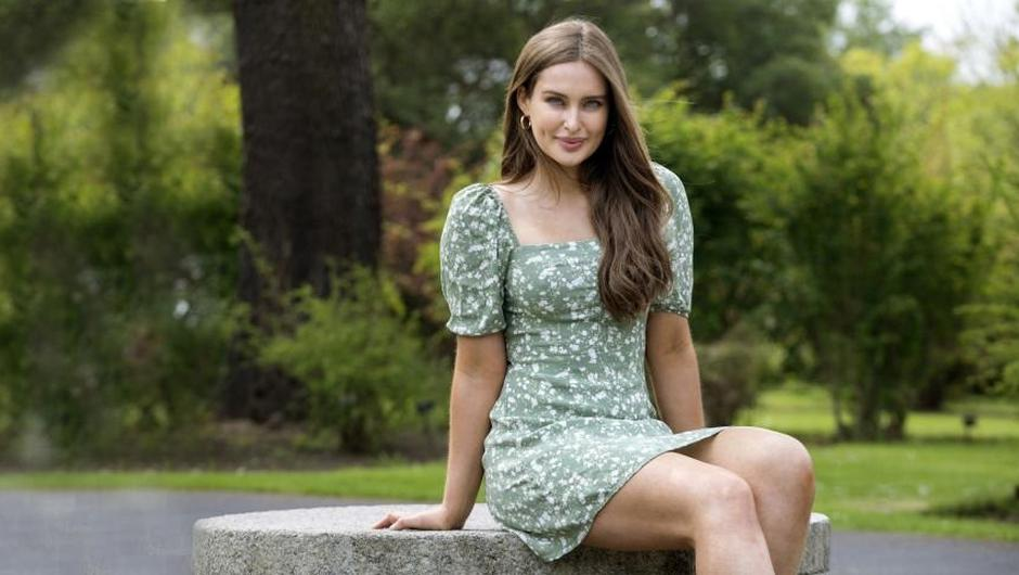 Roz Purcell met Mr Trump when she signed to his model agency