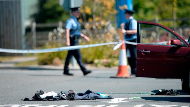 James 'Mago' Gately was wearing a bullet-proof vest when he was shot outside a petrol station