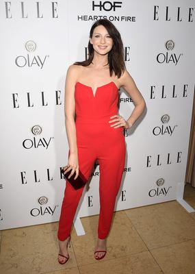 ELLE's Annual Women In Television Celebration - Arrivals...WEST HOLLYWOOD, CA - JANUARY 13:  Actress Caitriona Balfe  attends ELLE's Annual Women in Television Celebration on January 13, 2015 at Sunset Tower in West Hollywood, California. Presented by Hearts on Fire and Olay.  (Photo by Jason Merritt/Getty Images)