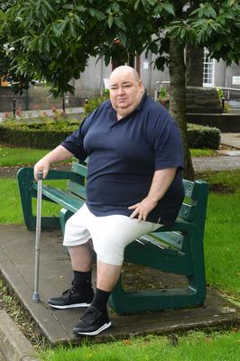 Meath man Philip Heary almost died and battled sepsis for eight months. Photo: Seamus Farrelly
